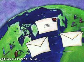 International postal mail